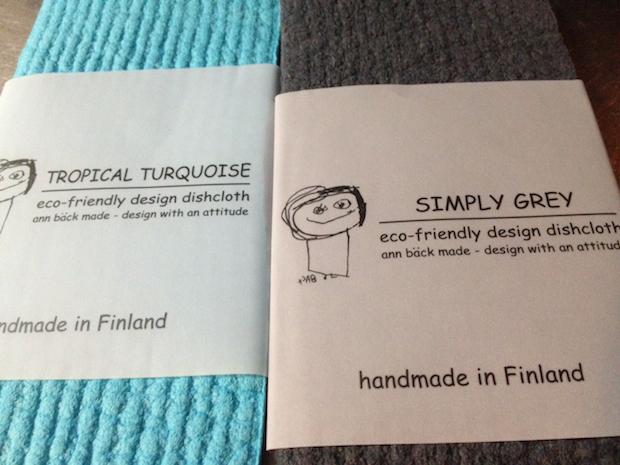 eco-friendly design dishcloth Finland
